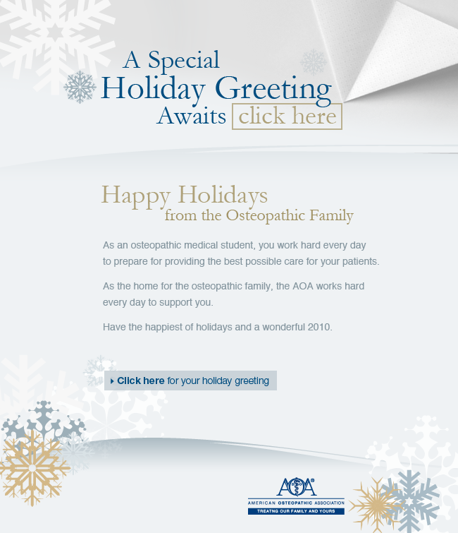 Warm fuzzy holiday e card just what the doctor ordered envisionit aoa email card m4hsunfo