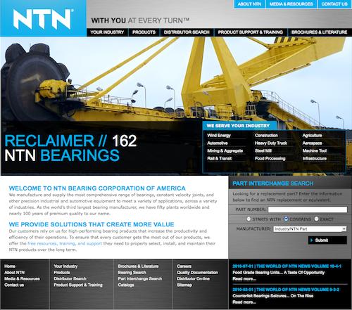 NTN Website Design