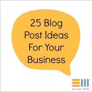 BlogPostIdeasforBusiness