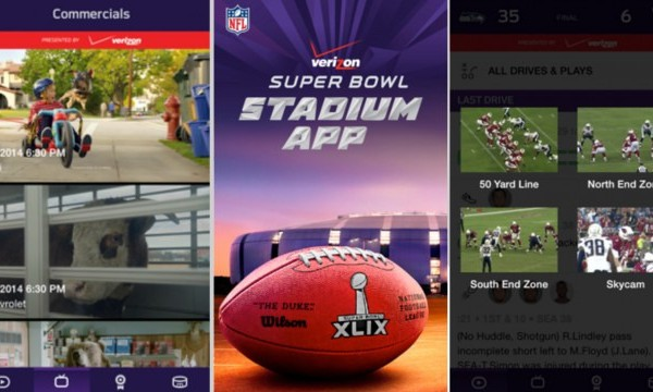 NFL Stadium App features commercials and replays for game goers