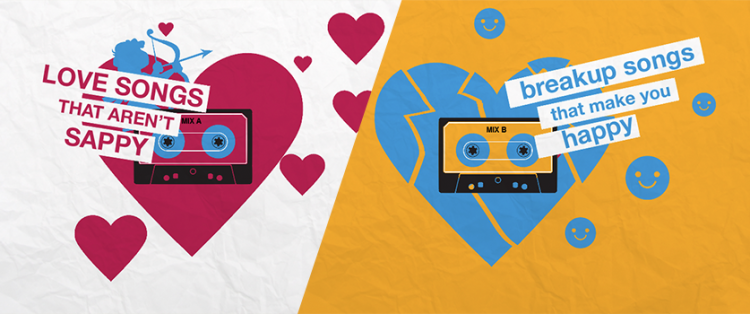 Our Valentine's Day and Anti-Valentine's Day Playlists | envisionit