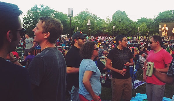 envisionit's annual summer outing at Ravinia, featuring Duran Duran!