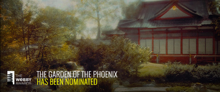 Vote for Garden of the Phoenix for the Webby Award
