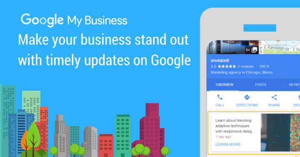 Google Posts – New Google My Business Feature Available
