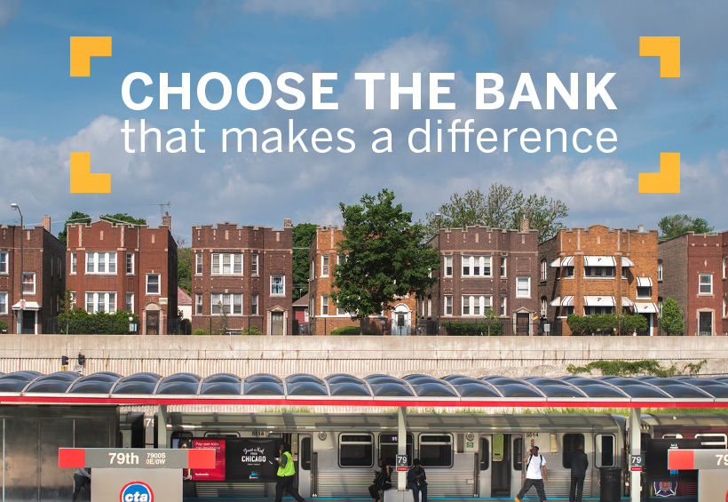 Choose the bank that makes a difference