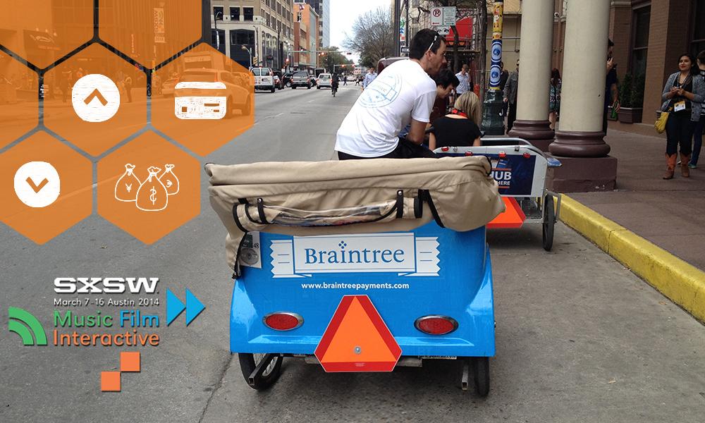 SXSW Braintree Ad