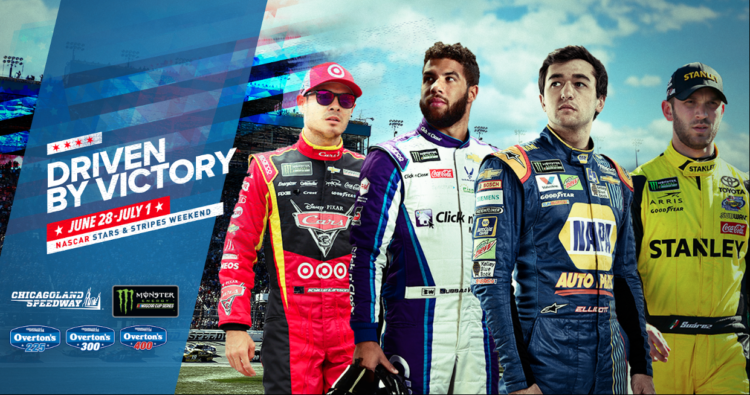 Driven By Victory NASCAR Stars & Stripes Weekend promo image