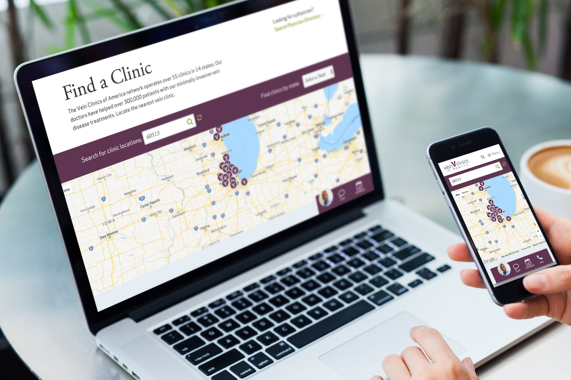 Vein Clinics Find a Clinic Location