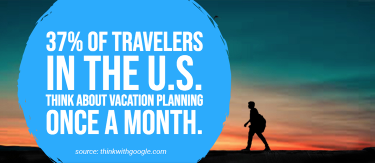 Think with Google traveler vacation planning statistics
