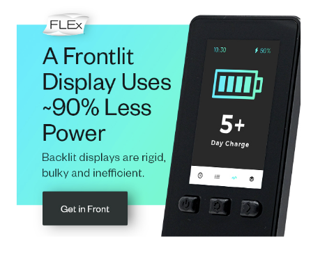 FLEx devices uses less power ad