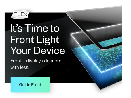 FLEx it's time to front light your device header image