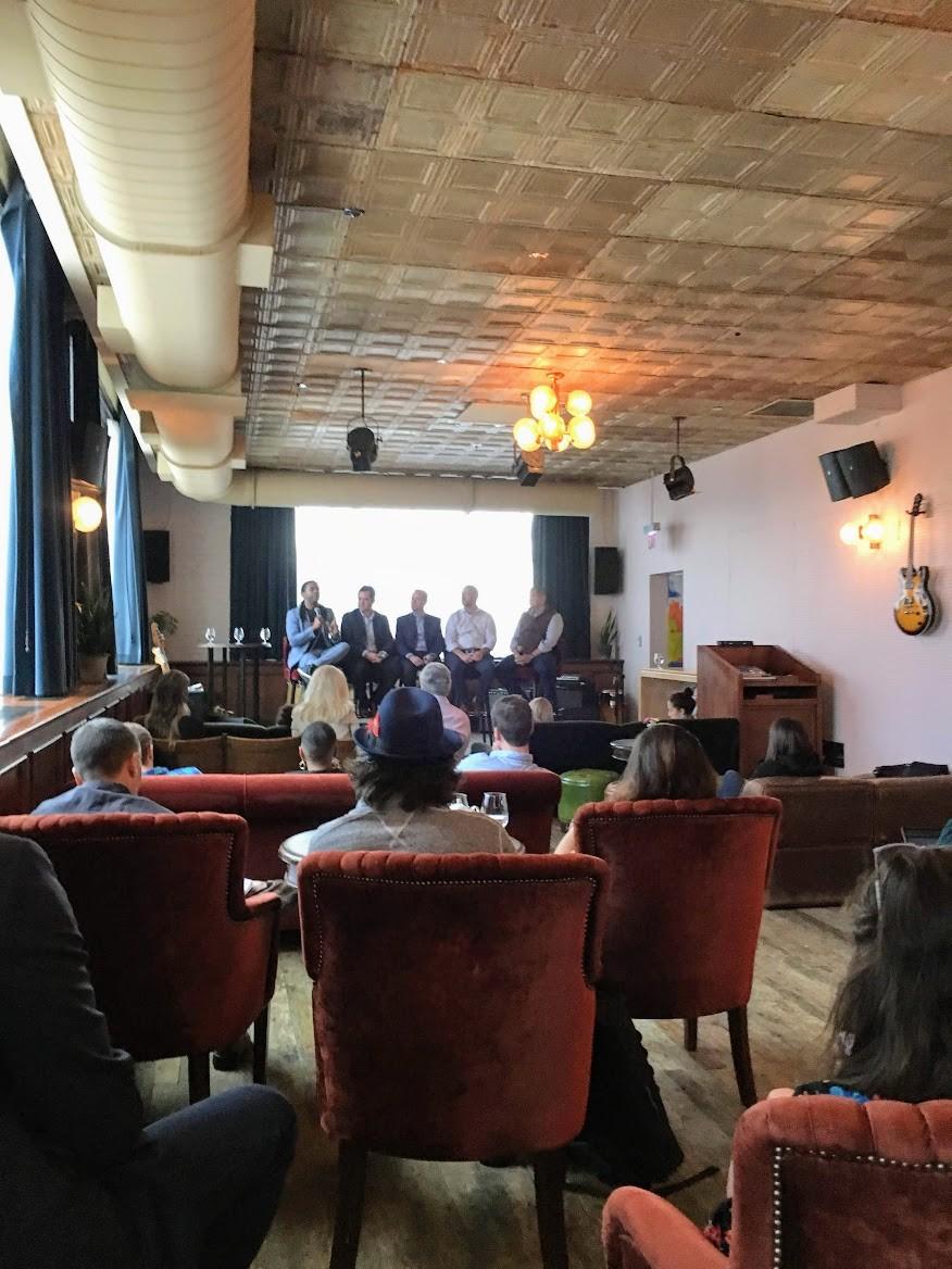 Panel being held at FinTex Week in Chicago