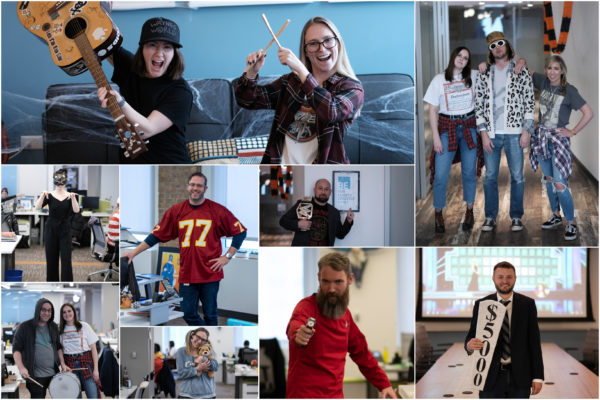 Envisionit Halloween 2019: Our COO dressed up as a fly and got really into character