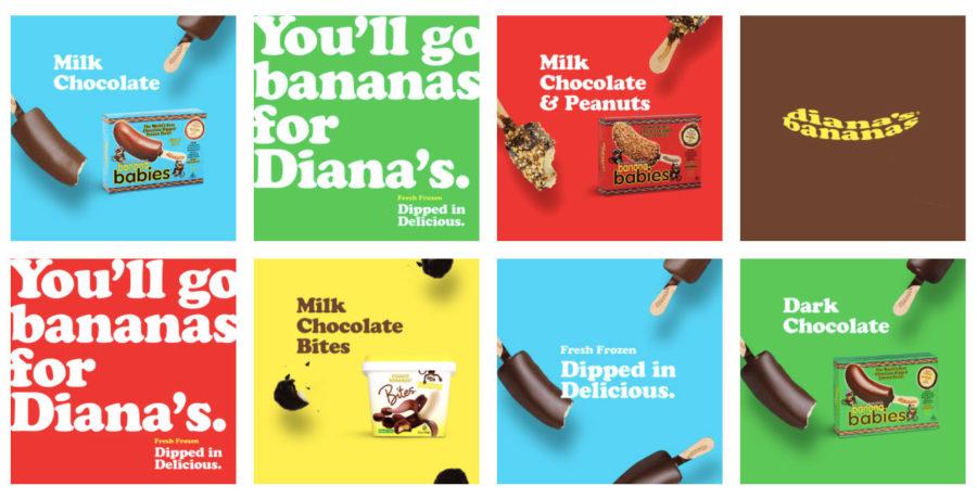 Dianas Bananas Ad