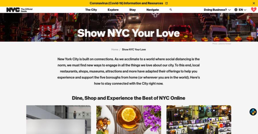 New York City DMO Site