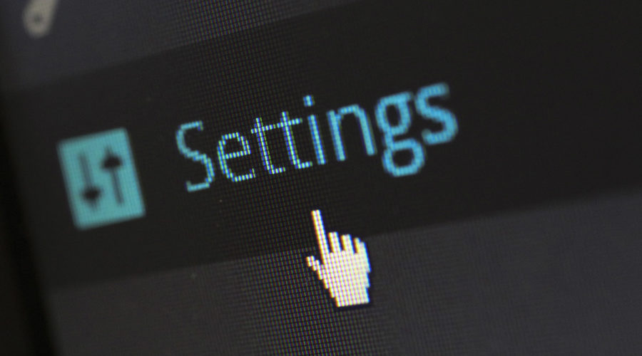Settings & Configuration of a Website