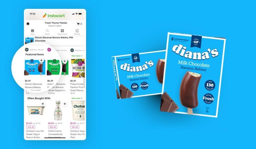 Diana's Bananas on Instantcart