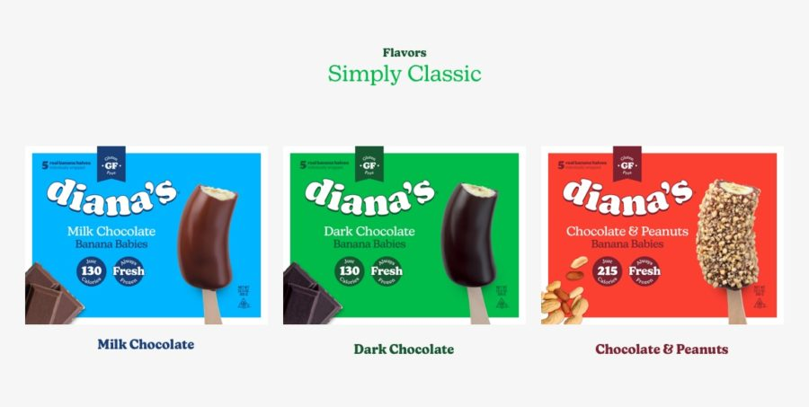 Diana's Banana's Products